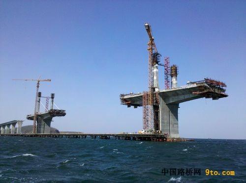 连续梁桥悬臂浇筑法施工流程和要点分析