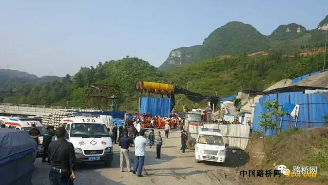 突发!成贵快铁七扇岩隧道疑似瓦斯爆炸 12人遇难!