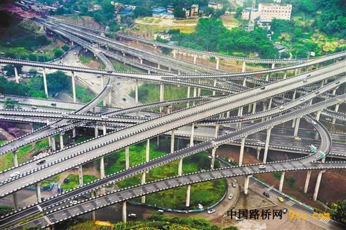 基础设施大提速 重庆主城形成多层次立体交通体系