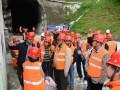 中亚区域经济合作组织考察中铁二十三局现代化铁路建设