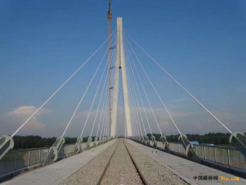 【图说一线】岳口汉江特大桥美景尽收眼底