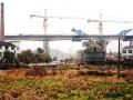 湖南:蒙华铁路严坑河大桥连续梁顺利合龙