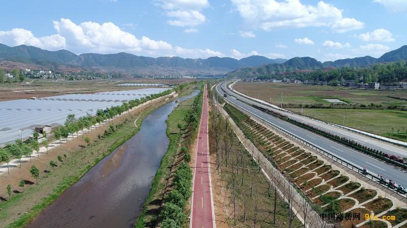 云南:首条郊野绿道开通