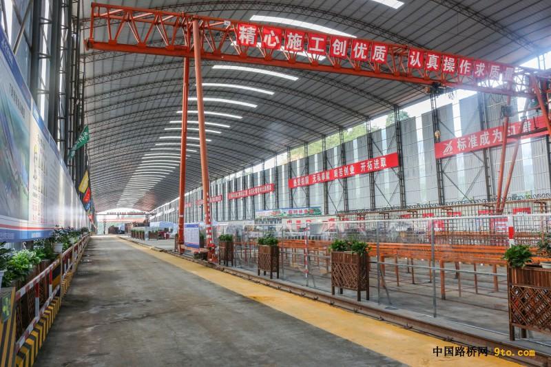 只为打造精品工程——北新路桥集团福建顺邵高速项目第三项目部智能化预制梁场建设小记