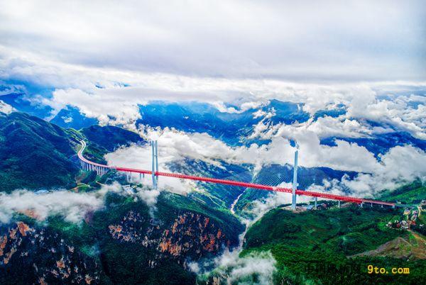 贵州:毕都北盘江大桥和鸭池河大桥双双荣获古斯塔夫.林德撒尔(Gustav Lindenthal)奖