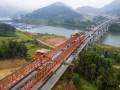 福建:顺邵高速项目首座跨铁大桥贯通