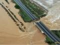 受暴雨影响 意大利高速公路桥坍塌