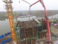 山东:枣菏高速第三合同段老万福河特大桥0#块顺利完成浇筑