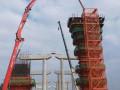 """湛江湾的""""大雁塔""""--调顺跨海大桥首根薄壁空心墩成功封顶"""