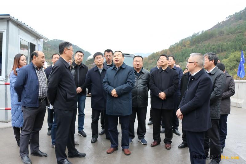 重庆市市长唐良智一行到万开项目调研