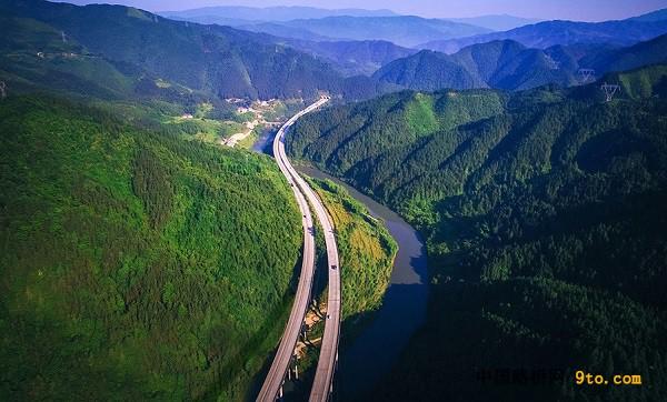 湖南:邵怀高速公路 开启湖南山区高速公路建设先河