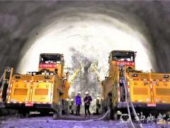 郑万高铁神农架段隧道正洞掘进突破10000米