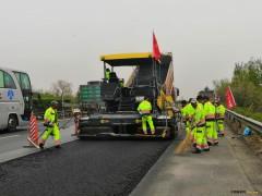 京哈高速公路沈阳至山海关段路面进行大规模维修