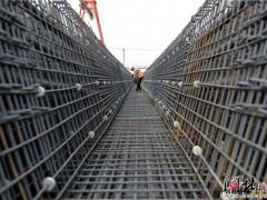 北京新机场北线高速公路廊坊段施工施工正酣