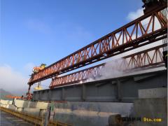 G353靖安公路改建工程塘埠大桥进入桥梁安装阶段