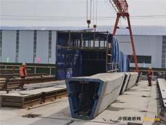 2月18日,雄安新区荣乌高速公路新线复工