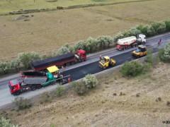 甘肃:武威公路局S308线养护工程顺利完工