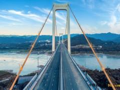 重庆:中国铁建港航局长寿经开区大桥建成通车