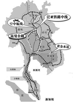 空立体交通可直达老挝,缅甸